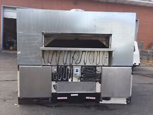 2 matching Wood Stone Fire Deck 9660 Pizza Oven