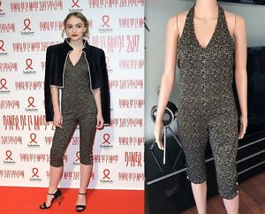 NEW CHANEL RUNWAY SEXY TWEED HALTER OPEN BACK ROMPER JUMPSUIT SO CUTE SOLD OUT!