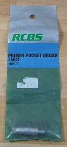 RCBS Primer Pocket Brush-(Lg) (09577) NIP