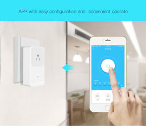 WIFI Plug Voice Control Home Smart Socket Very Low Electricity Consumption HS1