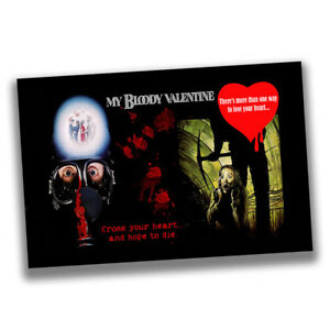 My Bloody Valentine Cross Your Heart an Hope To Die Reproduction Movie Poster