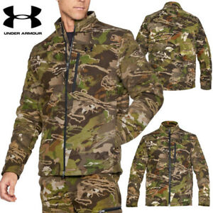 Under Armour Extreme Wool Jacket Camo Forest Size L