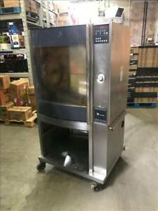 Fri-Jado STG7-P Electric Single Stack Commercial Chicken Rotisserie Oven #4