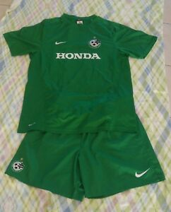 Maccabi Haifa Israel Football Soccer Green Nike  Dry Fit Shirt & Shorts Suit L