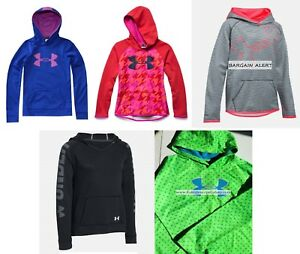GIRLS UNDER ARMOUR EXTRA LARGE HOODIE SWEATSHIRTS ~ 5 XL BRAND NEW ~ $150