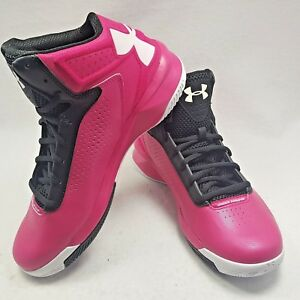 Under Armour Basketball Shoes Micro G Torch Women's Size 8.5 NEW pink black