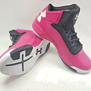 Under Armour Basketball Shoes Micro G Torch Women's Size 10 NEW pink black