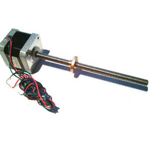 Linear Stepper Motor Actuator+Lead screw. 300mm long. For 3D printer Z-axis CNC