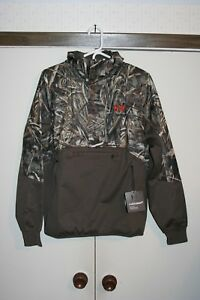 Under Armour Cold Gear Storm Infrared Sweeper Camo Hunting Hoodie Men Medium NEW