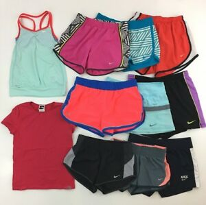 LOT (11) UNDER ARMOUR NIKE NORTH FACE Shorts Tank Shirt Workout XS Small B1-418