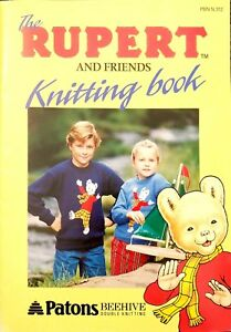 The Rupurt And Friends Knitting Book. Patons Beethive Double Knitting $15.99