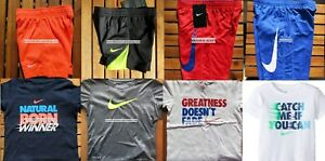 BOYS NIKE  2T or 3T ~ Dri-Fit  SHORTS ~ T-SHIRTS ~ SUMMER ~ NEW ~ 8 pieces
