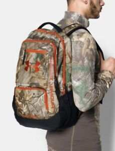 UNDER ARMOUR BACKPACK CAMO STORM HUSTLE BACKPACK 1247302-946  NWT $70