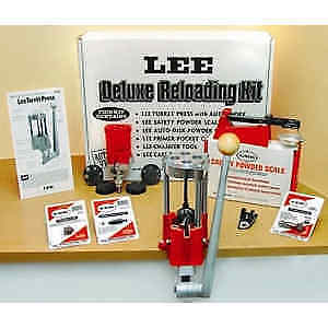 Lee Deluxe 4 Hole Turret Press Kit with Auto Index