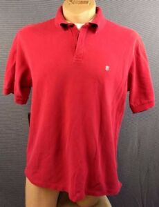 VICTORINOX GOLF SHIRT POLO SPORT Swiss Army Knife Red 100% Cotton Preppy Mens XL
