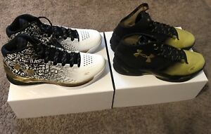 NEW DS UA Under Armour Curry B2B Back to Back MVP Pack Size 13 1300015-001 🏀
