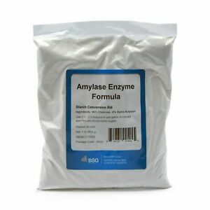 1 LB EXTREMELY FRESH AMYLASE ENZYME ~ BSG BLUE RETAIL PACK ~ FREE FAST SHIPPING