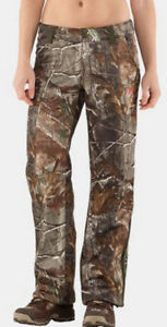 Under Armour Women's Cold Gear Scent Control Camo Deadcalm Pants NWT $180 340