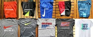 BOYS NIKE  2T or 3T ~ Dri-Fit  SHORTS ~ T-SHIRTS ~ SUMMER ~ NEW ~ 10 pieces