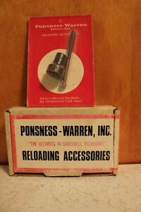 Ponsness-Warren 6 Point Crimp Starter 410 Gauge NIB