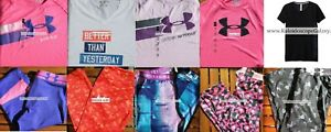 UNDER ARMOUR GIRLS 10pc ~ EXTRA LARGE ~ XL ~ CAPRI PANTS ~ TOPS Brand NEW ~ $283