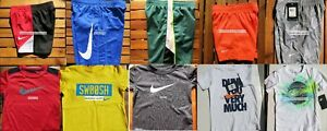 NIKE BOYS SIZE 4T ~ SHORTS ~ T-SHIRTS ~ DRI-FIT ~ SUMMER 10 PIECES ~ NEW