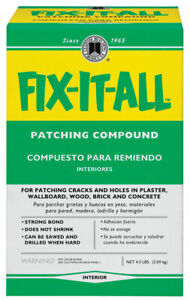 Custom Building Products DPFXL4 4 Fix It All Patching Compound 4 lbs.