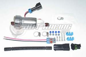 GENUINE WALBRO 450LPH High Performance Fuel Pump +Kit F90000267 E85 NEW TIA485-2