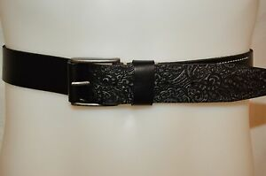 ROBERT GRAHAM Man's PENDLETON Casual Leather Design Belt NEW Size 38