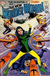 WONDER WOMAN #181 APR. 1969 VFNM THE NEW INCREDIBLE I-CHING SKIING DC COMICS