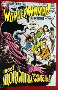 WONDER WOMAN #186 FEB 1970 VFNM THE NEW INCREDIBLE I-CHING MORGANA DC COMICS