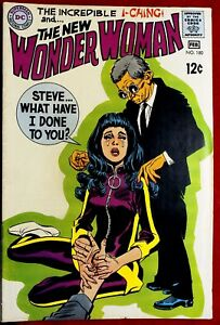 WONDER WOMAN #180 FEB 1969 VFNM I-CHING STEVE WHAT HAVE I DONE TO YOU DC COMICS