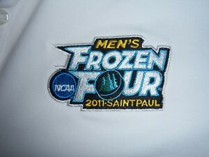 2011 MENS FROZEN FOUR POLO SHIRT WOMENS LARGE NIKE DRIFIT