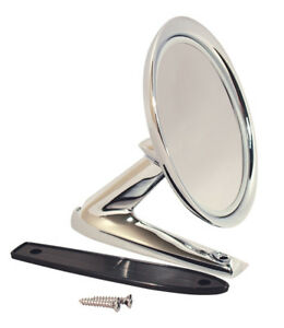 1964-1966 Ford Mustang Standard Manual Outside Mirror - Fits Left or Right Side
