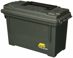 NEW Plano Ammo Can Field Box Ammunition Case Plastic Non Metal Water Resistant