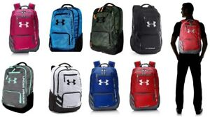 Under Armour Storm Hustle II Backpack Black School Travel Bag Water-Resistant