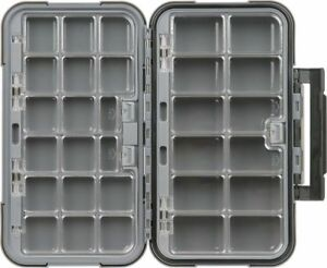 Flambeau X-Large 28 Compartment Blue Ribbon Fly tackle lure fishing Box storage
