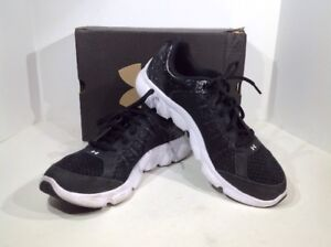 UNDER ARMOUR Boy's Size 7Y Black BGS Micro G Assert Athletic Shoes TY-124