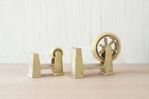 NEW FUTAGAMI Tape Cutter Dispenser Brass Simple Fashionable Made in Japan