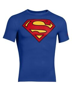 Under Armour Alter Ego Compression SS Short Sleeve Shirt Man Royal