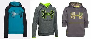 UNDER ARMOUR BOYS YOUTH EXTRA SMALL ~ 3 HOODIE SWEATSHIRTS ~ XS ~ $155 REALTREE