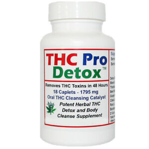 THC PRO Detox 2 Days To Remove THC Metabolites Herbal Detox Made in The USA $19.50