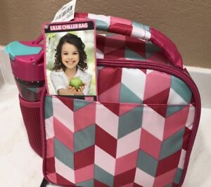 Fit & Fresh Lillie Chiller Insulated Lunch Bag Tote Chiller Set NWT Reduced