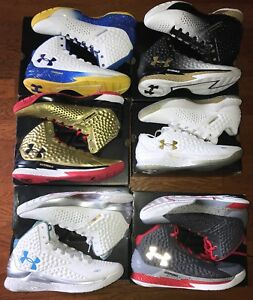 Under Armour Curry 1 Deadstock DS Collection Golden State Warriors MVP size 13