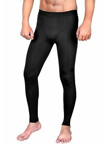 Mens Compression Pants Cool Dry Sports Baselayer Running Leggings Yoga  ML2