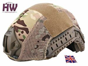 AIRSOFT HELMET COVER OPS JUMP RAIL MULTICAM MTP MC AT FAST UK DELIVERY