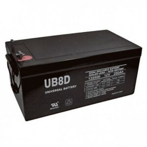 UB-8D AGM Sealed Lead Acid Battery RV Replacement LOCAL PICK UP ONLY