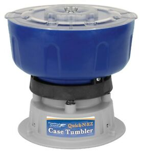 Vibratory Case Tumbler for Reloading Cleaning Brass and Polish Maintenance 110V