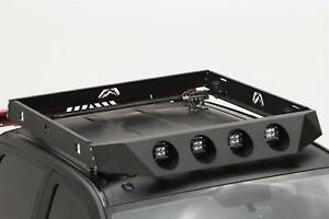 Fab Fours Roof Rack Powder Coated 4 Light Face Plate - Universal #RR14-1