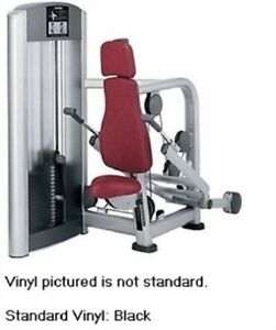 Life Fitness Signature Triceps Press Seated Dip Black Pads (Used Refurbished)